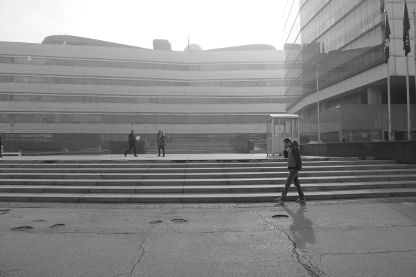 The Parliament complex Sarajevo