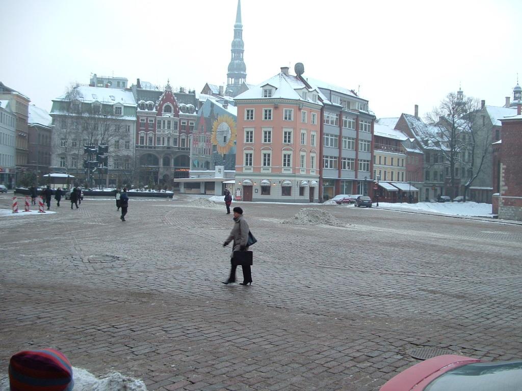 Riga's Doma Laukums (Cathedral Square)