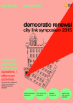 Democratic Renewal: City Link Symposium 2015