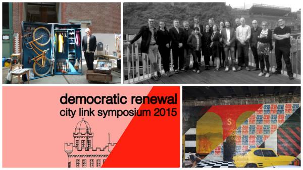 L to R: Dehallen by Christoph Lindner, New Met Symposium, City Link Edinburgh Copenhagen, #UNTOLDEDINBURGH