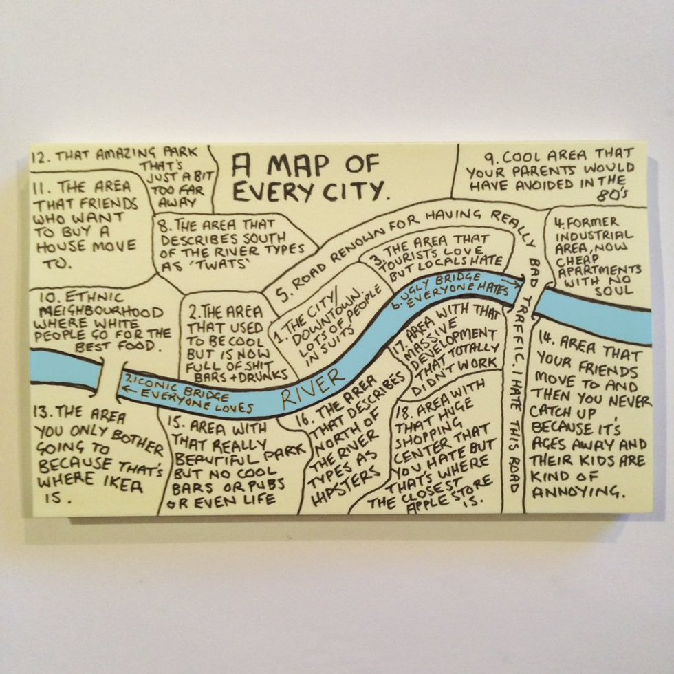 Chaz Hutton's Map of Every City