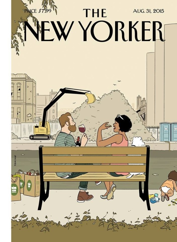 Adrian Tomine's New Yorker Cover