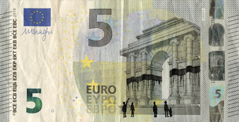 Image by Stefanos: Euro Banknote Bombing